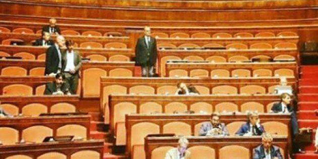 La Lega se ne infischia di Borsellino. Banchi vuoti al Senato durante le commemorazioni per la strage...