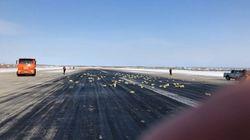 Aereo perde in volo 3,4 tonnellate di lingotti