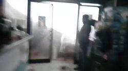 Il tornado fa crollare il soffitto del ristorante. Immagini spaventose da Tricase