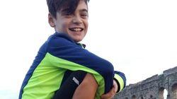 Andrea, 12 anni, affronta la fibrosi cistica col sorriso: