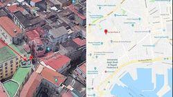 Crolla ex monastero a Napoli in pieno centro. Estratti vivi cinque operai: uno è ricoverato in codice