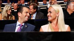 Trump Jr e moglie Vanessa annunciano