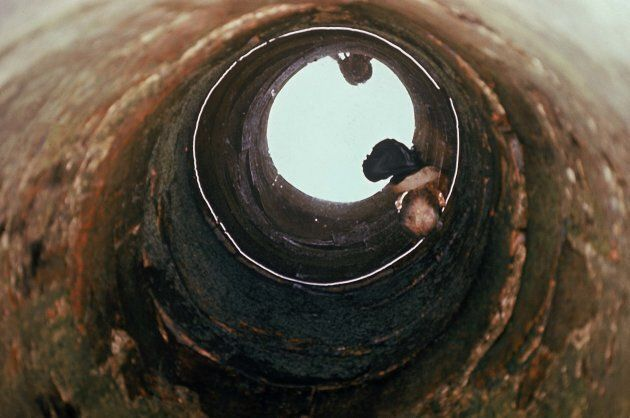 Head of man floating in well during Mylai massacre. (Photo by Ronald S. Haeberle/The LIFE Images Collection/Getty