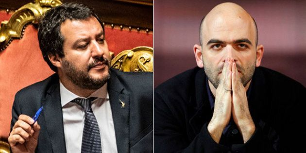 Querela su carta intestata del Viminale. Il ministro Salvini porta Saviano dal giudice