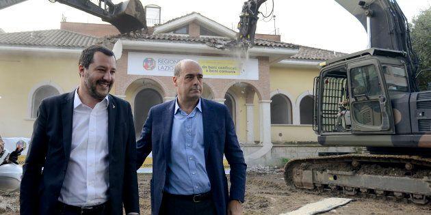 Nicola Zingaretti sgombera i Casamonica senza salire sulla