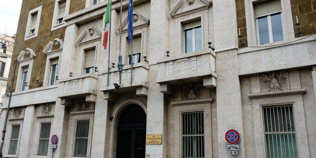 Rome, Italy - September 2, 2017: Consiglio Superiore della Magistratura building exterior. CSM is the...