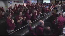 La sonda atterra su Marte, la reazione degli scienziati della Nasa è