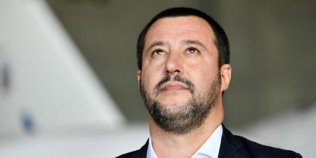 El viceprimer ministro y ministro de Interior italiano, Matteo Salvini.