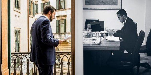 Di Maio e Salvini, operazione di sistema sulle