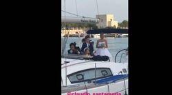 Claudio Santamaria e Francesca Barra si sono sposati: la canzone d'amore dell'attore alla sua