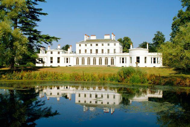 Frogmore House, Home Park, Windsor Castle, Berkshire, England,
