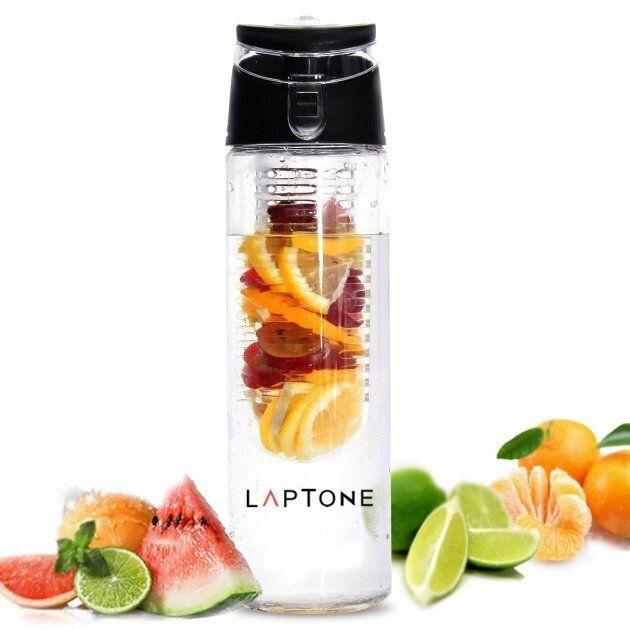 Laptone - Bottiglia con infusore per