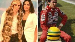 Cristina Pensa, ex del pilota Senna: