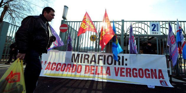 Gli operai di Mirafiori: