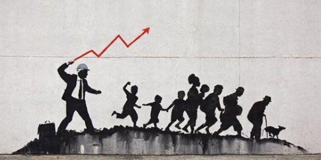 Il ritorno di Banksy a New York è un manifesto contro il