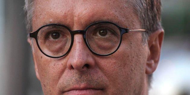 NAPLES, CAMPANIA, ITALY - 2017/09/29: Raffaele Cantone the president of the Italian Anti-Corruption authority....