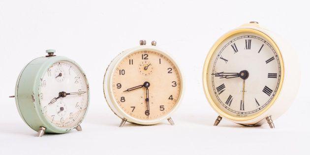 Vecchi orologi con