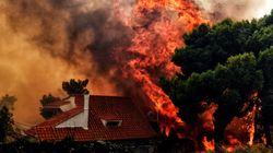 Gli incendi fanno strage in Grecia: si temono oltre 100 morti e 556 feriti. Caccia ai