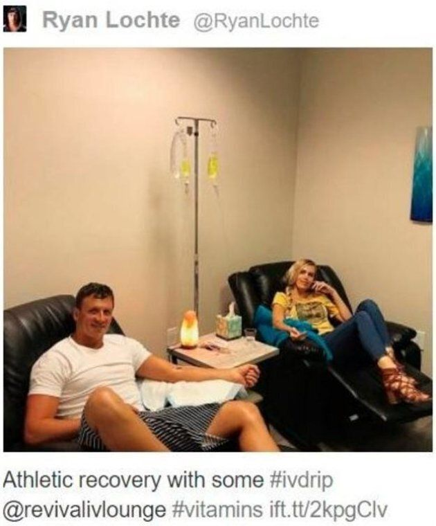 Il nuotatore Ryan Lochte è stato squalificato per 14 mesi per una trasfusione