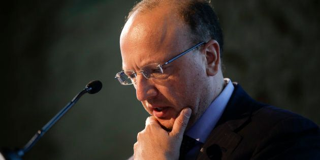 Confindustria president Vincenzo Boccia attends the conference 'Open to Innovation' at the Museum of...