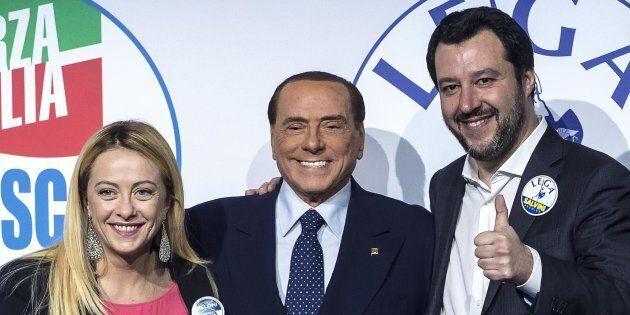 Vertice Berlusconi-Salvini-Meloni sulle presidenze delle Camere:
