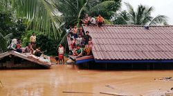 Cede una diga in Laos, si temono centinaia di