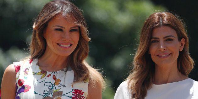 Melania Trump ha trovato una first lady in grado di tenerle testa in fatto di charme e