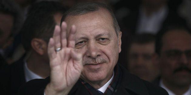 Il presidente turco Recep Tayyip