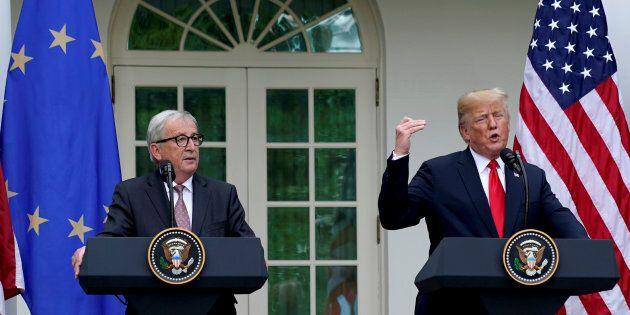 Trump e Juncker annunciano una tregua sui dazi. Il presidente Usa: