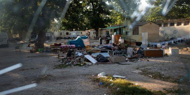 Il campo rom Camping