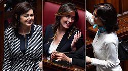Colori scuri, outfit eleganti: i look dei parlamentari nel loro primo
