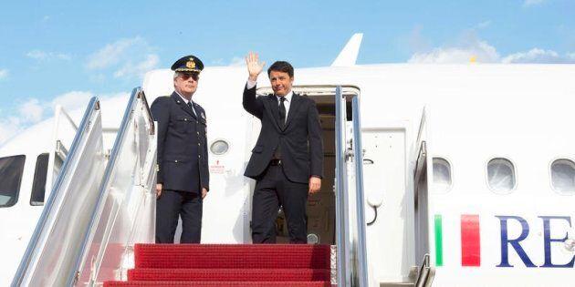 Giuseppe Conte rottama l'Air Force Renzi per i voli di