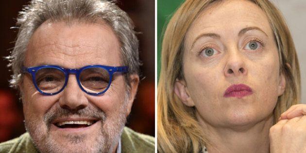Oliviero Toscani contro Giorgia Meloni: