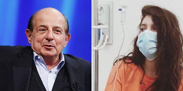 La figlia di Magalli è stata ricoverata in ospedale. Lo sfogo sui social: