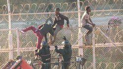 Migranti assaltano l'enclave di Ceuta: in 600 superano le recinzioni ed entrano in