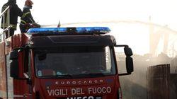 Esplode un distributore di benzina a Rieti sulla Salaria, due vittime. Una è un Vigile del