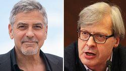 George Clooney contro Vittorio Sgarbi: