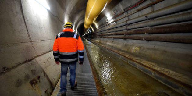 Uno dei tunnel della Tav a Chiomonte, Piemonte. Foto del 19 novembre 2018. REUTERS/Massimo