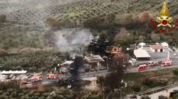 Il vigile del fuoco morto nell'esplosione del distributore a Rieti era diretto a Roma, si era fermato per