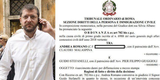 Andrea Romano condannato a risarcire l'editore dell'Unità che lo accusò di non presentarsi più in