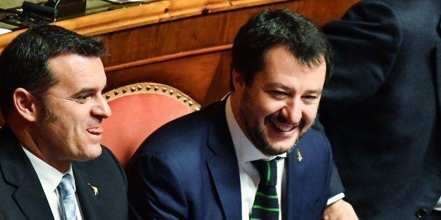 La Lega soddisfatta dopo l'elezione di Fico alla Camera e di Casellati al