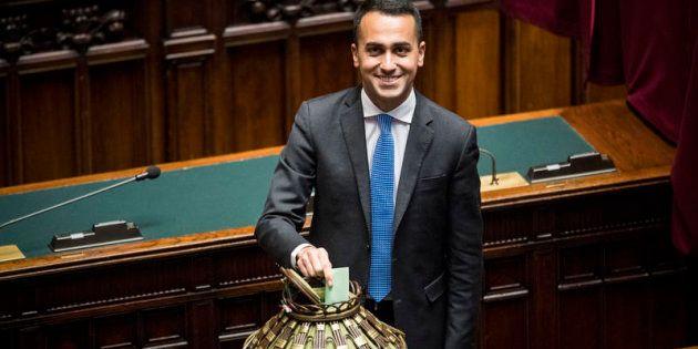 23/03/2018 Roma, Aula della Camera, seconda seduta della XVIII legislatura. Nella foto Luigi Di