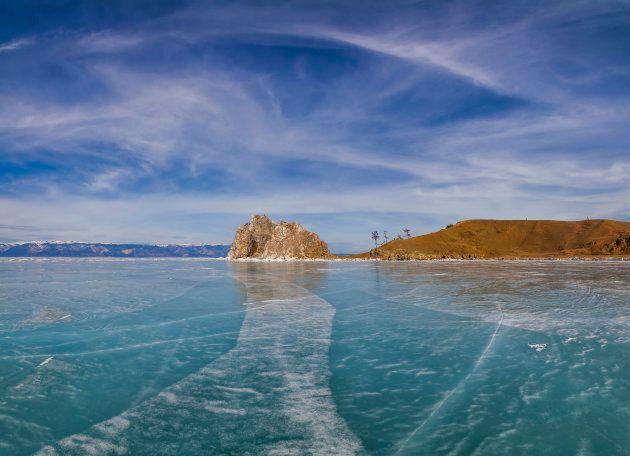 Lake Baikal, Siberia,