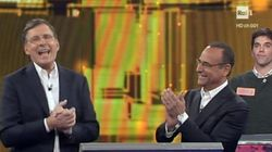 Quando Frizzi tornò in tv dopo la malattia e Carlo Conti gli restituì le chiavi
