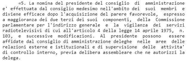 Relazioni esterne e supervisione interna: i (pochi) poteri che la legge affida al Presidente della