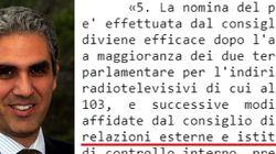 Relazioni esterne e supervisione interna: ecco i (pochi) poteri che la legge affida al Presidente della Rai (di C.