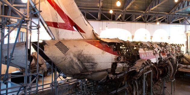 Museo per la Memoria della strage di Ustica, la ricostruzione