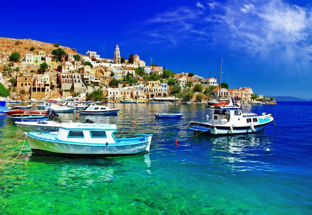 pictorial Greece series- Symi island,