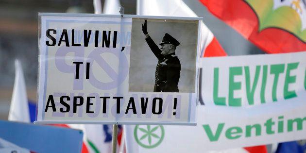 A placard