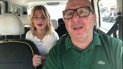 Nel taxi c'è Emma Marrone. E scatta il duetto col
